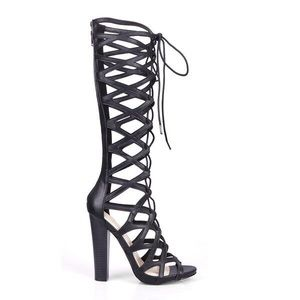 Style Link Miami Shoes - Sample Sale 💥 Lace Up Gladiator Heels